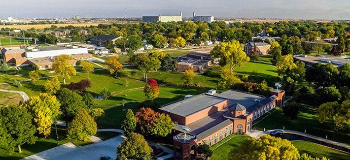 aerial fall campus 2