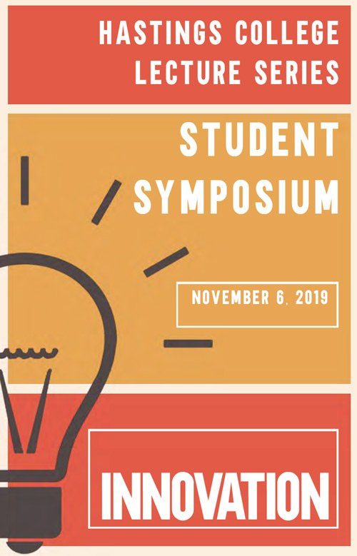 Student symposium booklet cover