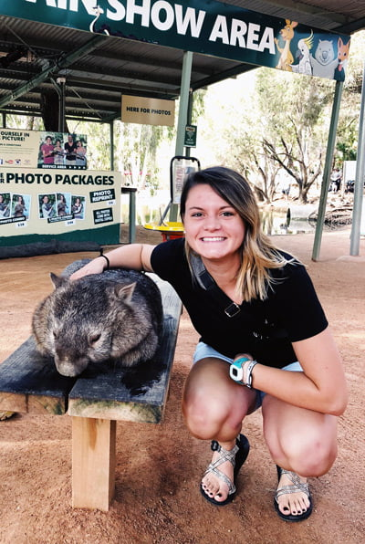 Allison Matousek in Australia.