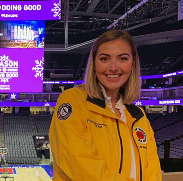 Andie Paschal at a CityYear event