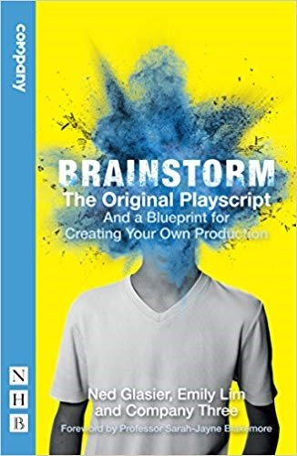 Brainstorm theatre show poster graphic