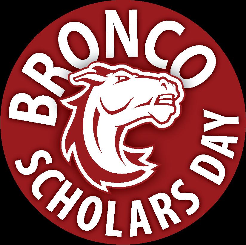 Broncos Scholars Day Sticker web