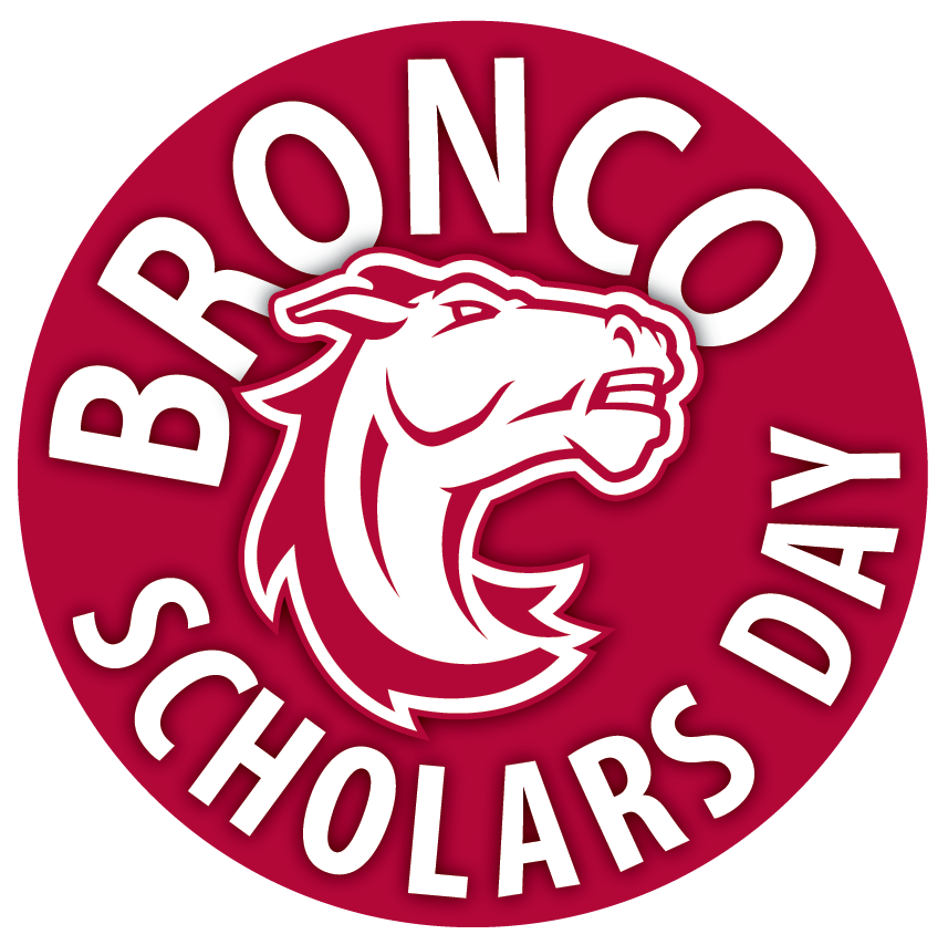 Bronco Scholars Day graphic