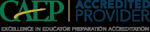 Teacher Education CAEP Accreditation logo