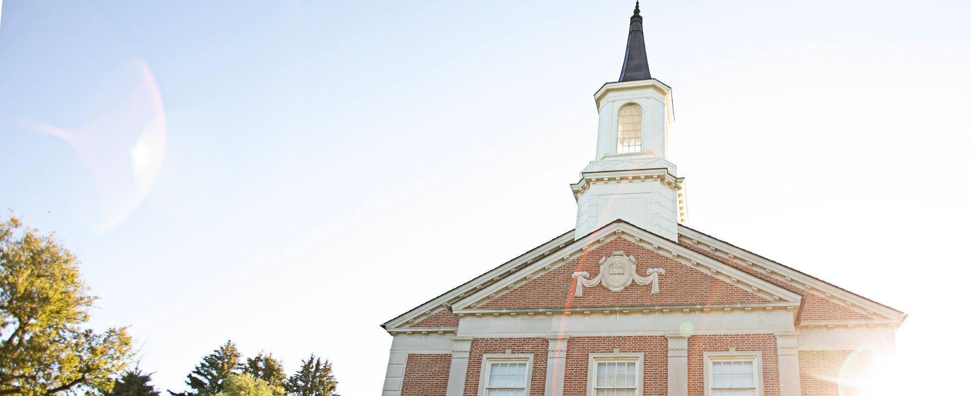 Chapel Banner graduation