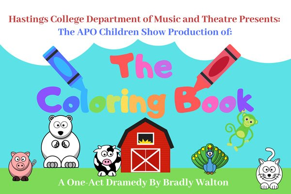 The Coloring Book theatre poster
