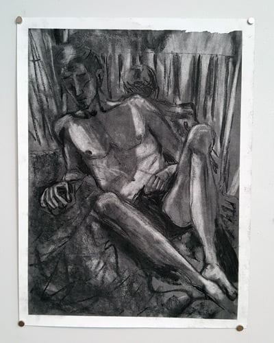 Life Drawing artwork by Conner Goodwin.