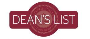 Deans List Sticker