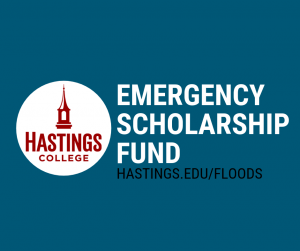 Graphic that says emergency scholarship fund
