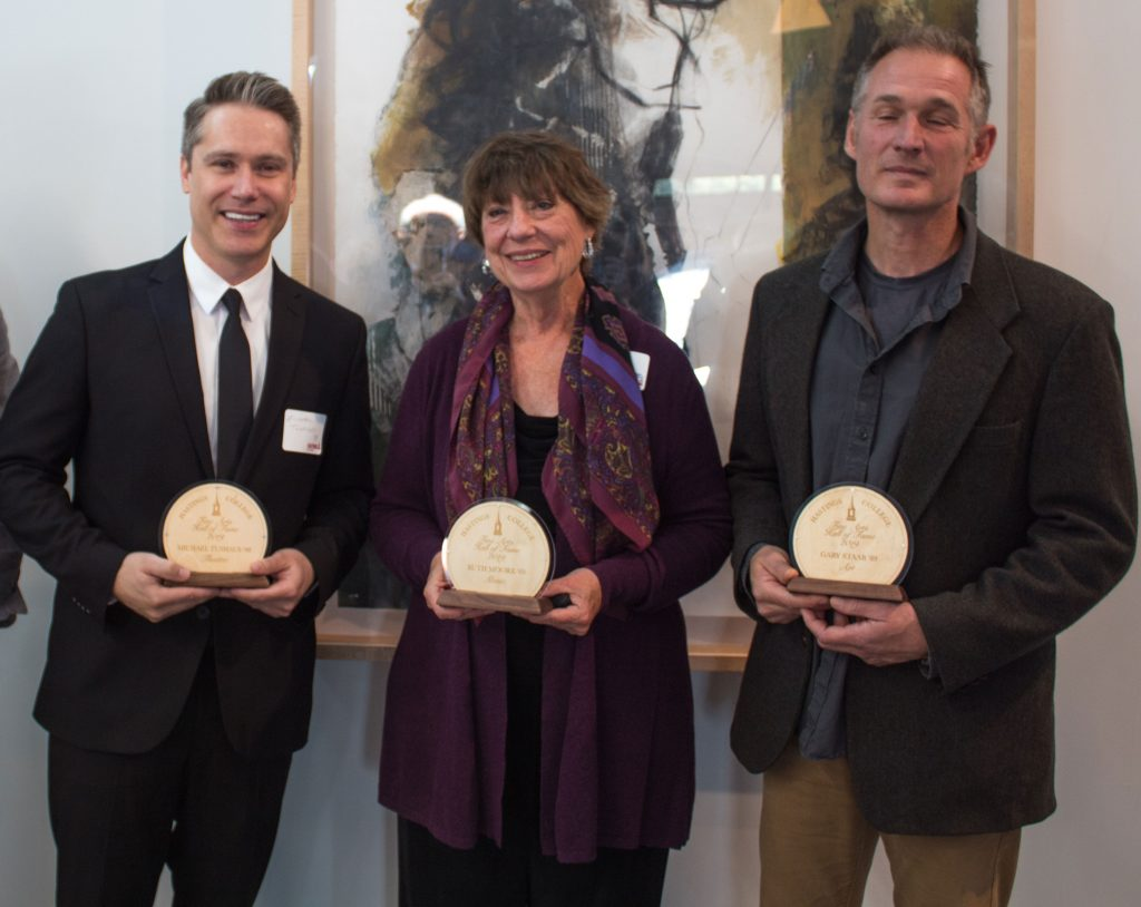 2019 inductees into the Hastings College Fine Arts Hall of Fame
