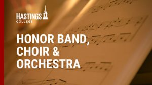Graphic for Hastings College Honor Band, Choir and Orchestra