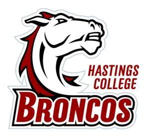 Hastings College Broncos Logo