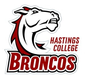 Hastings College Bronco logo