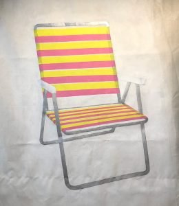 Larson chair painting w