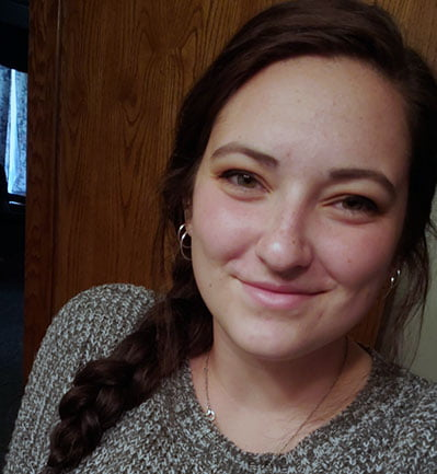 Megan Vaughn, a senior at Hastings College, interned for the Greater Grand Island Community Foundation in Grand Island.