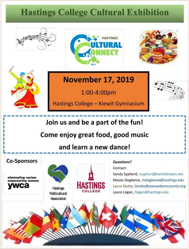 Poster for the cultural fair