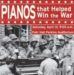 Piano Festival poster