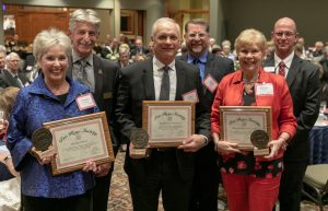 Inductees into the Pro Rege society in 2019
