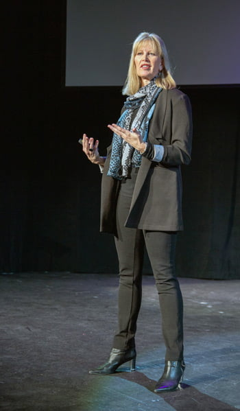 Tammy Heflebower standing