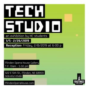 Tech Studio show graphic