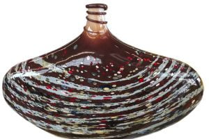 Glass art piece by Tom Kreager