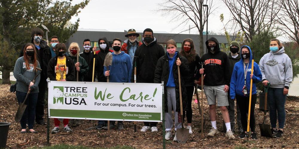 Tree campus Arbor Day 21w