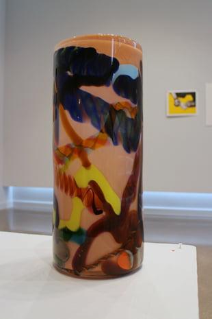 color splash vase arnett w