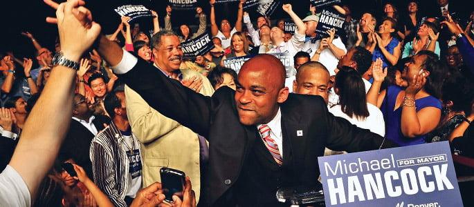Hastings College graduate Michael Hancock elected mayor of Denver Colorado