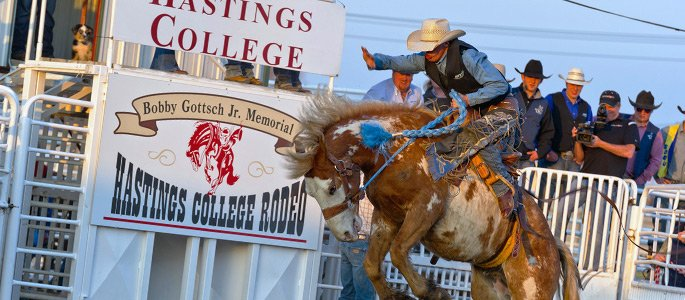 hastings college rodeo 2014