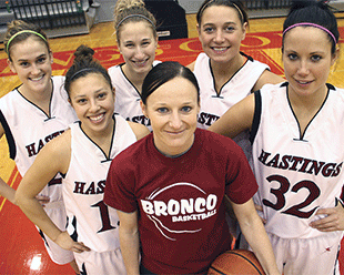 HC alumni Carrie Hofstetter was elected to the Hastings College Athletic Hall of Fame.