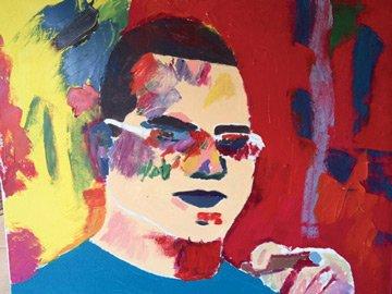 jackson dinsdale self portrait w
