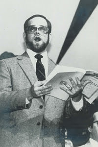 Photo of Robin Koozer while a student