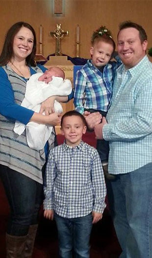 Morgan Savage family picture