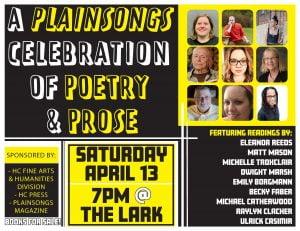 Plainsongs flyer