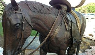 riderlesshorse bronze
