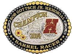 rodeo buckle 2014
