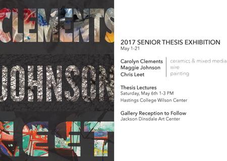 senior thesis flyer 2w