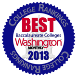 Washington Monthly names Hastings College in Nebraska a top school.